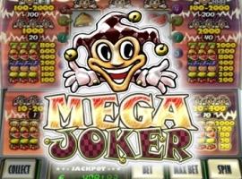 Spielautomat Der Mega Joker macht das Geld locker